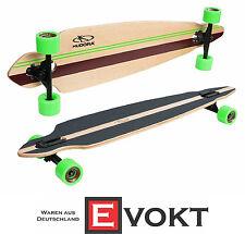Hudora Longboard Rockpile 12807 Lizard Look Maple Wood Genuine New Best Gift