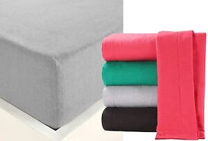 """100% Brushed Cotton Thermal Flannelette Extra Deep 14"""" 36cm Fitted Sheet Sheets"""