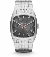 Diesel Analog Scalped Stainless Steel Men's watch #DZ1587 USA SELLER