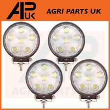 4 x 18W LED work Light Lamp 12V Flood Beam 24V Round Trailer Offroad 4X4 SUV