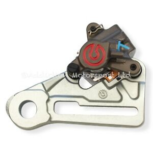 Brembo Rear Caliper PF26mm with Bracket and Pads for KTM 125 EXC/SX - XQ21390