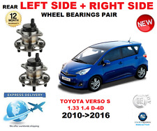 FOR TOYOTA VERSO S REAR WHEEL BEARINGS 2010->2016 1.33 1.4 D-4D LEFT and RIGHT
