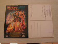 carte postal  retour vers le futur  3