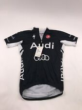 Castelli Audi Cycling Team Podio Jersey (Black) - Size Small