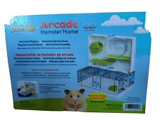 Hamster Cage | Awesome Arcade Hamster Home | 18.11 x 11.61 x 21.26 Inch