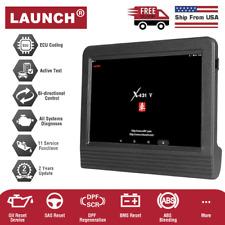 LAUNCH X431 V PRO Car OBD2 Scanpad Diagnostic Scan Tool Bidirectional Key Coding