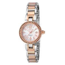 Invicta Women's Angel Steel Bracelet & Case Swiss Quartz Analog Watch 13613
