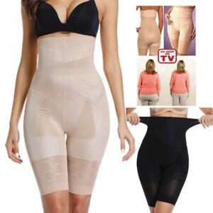 US Firm Control High Waist Long Leg Tummy Thigh Slimming Shapewear Underwear