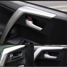 4x Chrome Interior Door handle Cover Accessories For Toyota RAV4 2013-2018 k