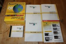 Rosetta Stone Learn To Speak Japanese Levels 1 & 2 Original Version