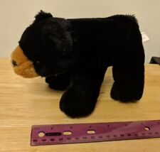 BEARINGTON BEAR COLLECTION BLACK GRIZZLY PLUSH STUFFED TOY STANDING