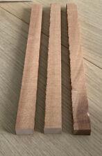 🌳3 x Mahogany Hardwood Timber Offcuts each 41 x 2.9 x 1.8cm Wood Crafts 1399-P