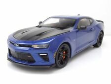 Chevrolet Camaro SS 1LE 2017 blau metallic, Modellauto 1:18 / Auto World