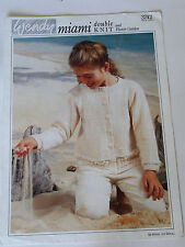 "Knitting Pattern Wendy DK Child's Cropped Cardigan with Lace Border 22-32""  3742"