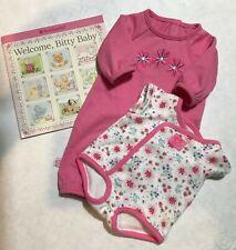 AMERICAN GIRL Bitty Baby Pink Sleeper Sleeper Set
