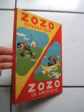 FRANCHI /  ZOZO EXPLORATEUR  + ZOZO EN AMERIQUE  / EDITION TOURET / 1947