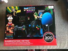 MY ARCADE GameStation Retro Plug & Play Console 300+ Games w/ Data East Hits