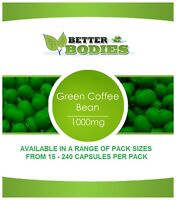 GREEN COFFEE 1000MG BEAN EXTRACT WEIGHT LOSS SLIMMING DIET PILLS CAPSULES PILLS