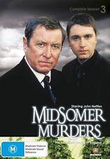 MIDSOMER MURDERS : SEASON 3 - John Nettles (DVD, All, 2-Disc Set, Free Postage)