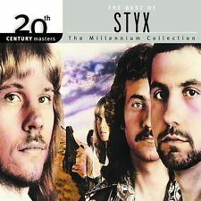 THE BEST OF STYX - 20th Century Masters The Millennium Collection /2002 CD Album