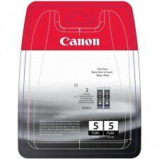 Canon Original PGI-5 Black Twin Pack Ink Cartridges (0628B030) PIXMA iP 4200 800