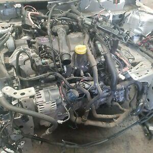 RENAULT MEGANE ENGINE BARE ,1.5L ,DIESEL TURBO ,K9KN ,X95,2010-16 ,90000 KMS