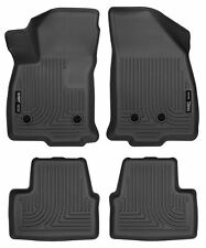 Husky Liners WeatherBeater Floor Mats - 4pc - 98281 - Chevy Volt 2016-2018-Black