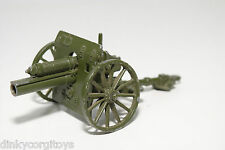 CRESENT TOYS 1289 25 POUNDER FIELD GUN ARMY EXCELLENT CONDITION