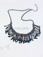Korea fashion long sweater chain necklace pretty opals decorations women gift