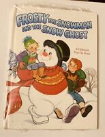 1979 FROSTY the Snowman Snow Ghost Hallmark POP UP Book sealed Christmas