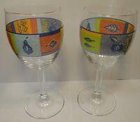 Royal Doulton TrailFinder 10 oz Wine Water Goblets Set of 2 Excellent
