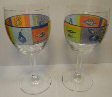 TWO Royal Doulton TrailFinder 10 oz Wine Water Goblets Set of 2 EXCELLENT