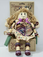 Homespun Creations Doll Kmart Retired Make Craft Doll Buttons Plush