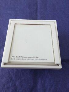 Siedle TM 511-01 W Tastenmodul, Klingeltaster, Sprechanlage Weiß