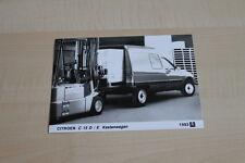 SV0578) Citroen C 15 D / E Kastenwagen Pressefoto 1993