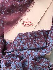 ☆ VIVIENNE WESTWOOD Schal, Tuch, scarf 70x170 mehrfarbig Geschenkbox LP 209€