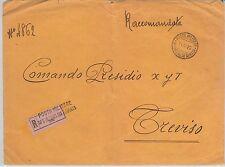 ITALIA  - STORIA POSTALE: BUSTA Posta MILITARE:  Ufficio Intend. III Armata 1916