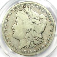 1895-S Morgan Silver Dollar $1 - Certified PCGS VG8 - Rare Coin!