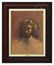 Thomas Kinkade -The Prince of Peace – Canvas Classic (Burl Frame)