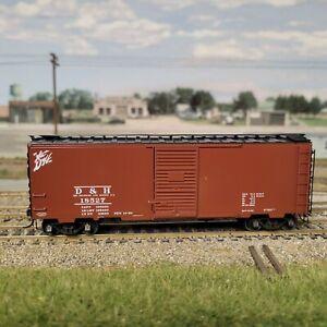 HO Kadee 40' PS-1 Box Delaware & Hudson D&H 4091
