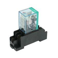 220/240v AC Coil DPDT Power Relay My2nj 8 Pin W Socket Base Z2z1 R9