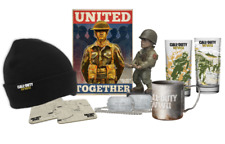 Big Box Call of Duty WW2 Collectables Loot Crate. PS4 Xbox One. Gift Present Set