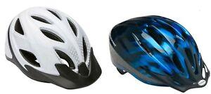 Schwinn Adult Blue or White Protective Bicycle Bike Multi-Sport Helmet: 14+