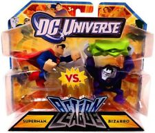 DC Universe Action League Superman vs. Bizarro 3-Inch Mini Figures