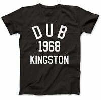 Dub Reggae 1968 T-Shirt 100% Premium Cotton King Tubby Lee Scratch Perry