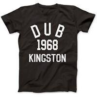 Dub Reggae 1968 T-Shirt 100% Premium Cotton King Tubby Lee Scratch Perry