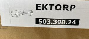 Ikea EKTORP 4 Seat Corner Sectional Sofa Slipcover Cover SKAFTARP YELLOW New!