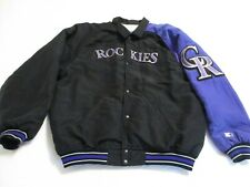 Colorado Rockies Warm-up Jacket (Youth)