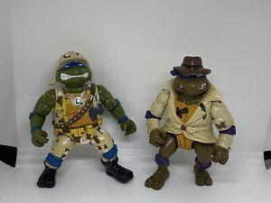 Vintage Teenage Mutant Ninja Turtles  Lieutenant Leonardo & Undercover Donatello