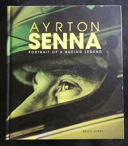 Ayrton Senna Portrait of a Racing Legend by Bruce Jones - Published by Carlton